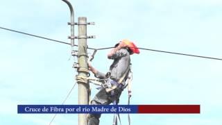 Cruce de Fibra Óptica - Río Madre de Dios - Puerto Maldonado