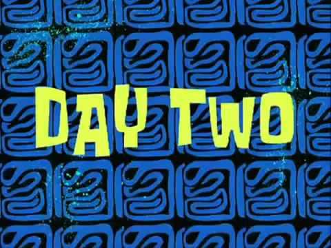 spongebob a few moments later