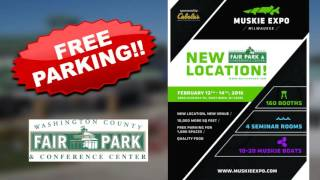 MILWAUKEE MUSKIE EXPO- NEW VENUE 2016