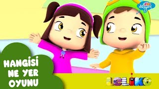 Leliko Bölüm 12 - Hangisi Ne Yer Oyunu - Çizgi Film | Düşyeri