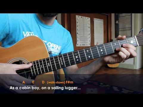 Oscar Isaac - Shoals of Herring - Folk Guitar Lesson