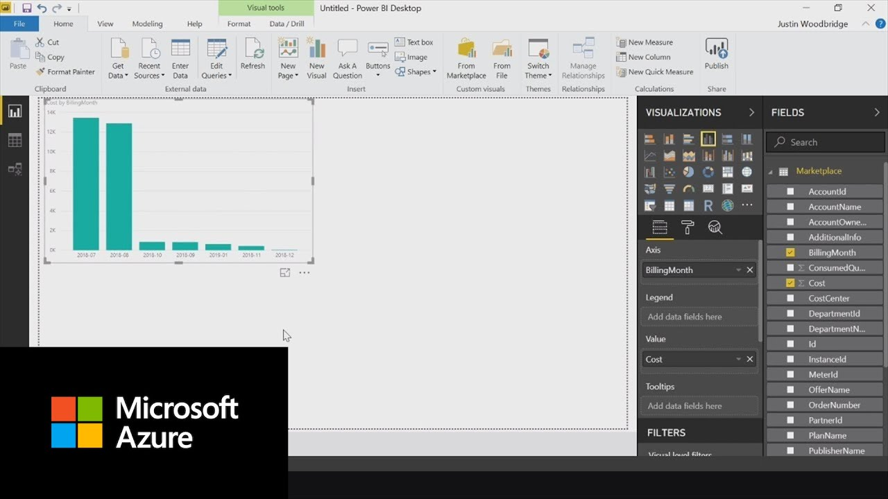 How to analyze spending in Power BI with Azure Consumption Insights