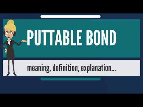 What is PUTTABLE BOND? What dos PUTTABLE BOND mean? PUTTABLE BOND meaning & explanation