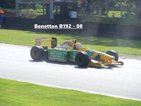 90's F1 & F3000 Demos (Dallara F191 & F192, Coloni C3, Lola F3000, Benetton B190 & B192-08)