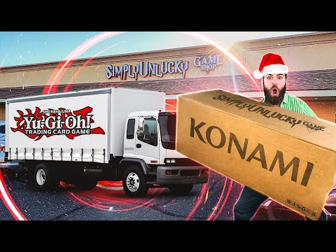 MOST MASSIVE Yu-Gi-Oh! MYSTERY PACKAGE & KONAMI Box Opening! | CHRISTMAS SPECIAL