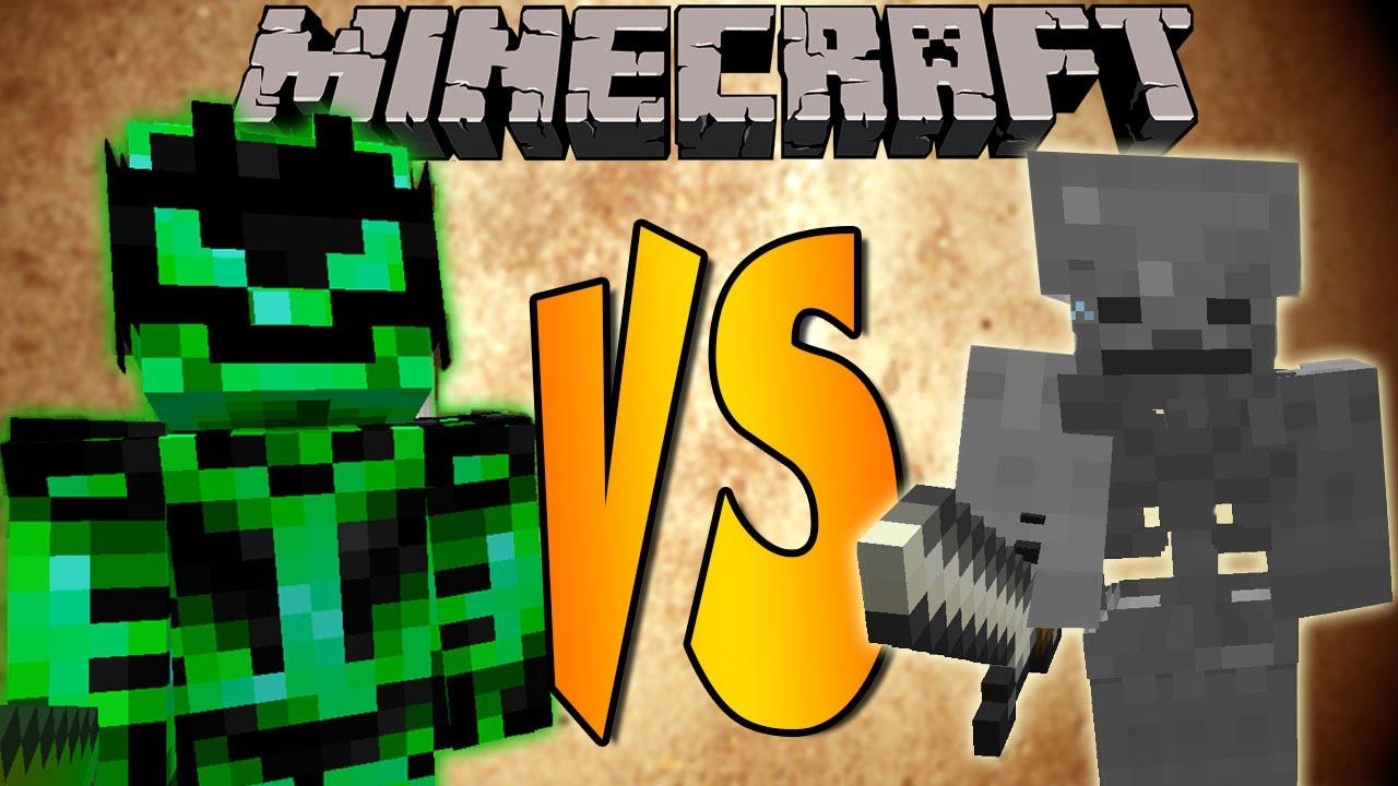 INFERNAL LORD VS SKELETON KING  Minecraft Batallas de
