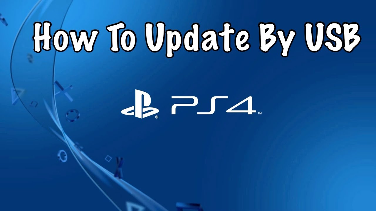 ps4 download game update usb