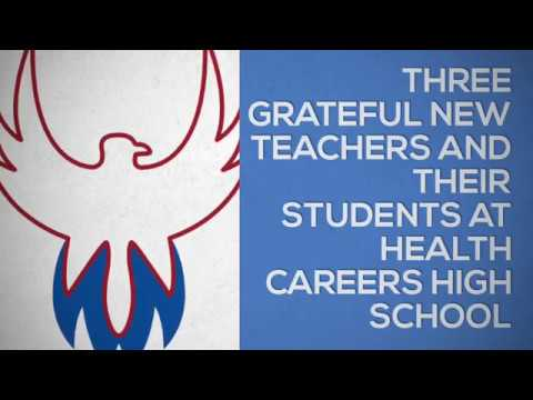 New Teacher Grants at Health Careers High School