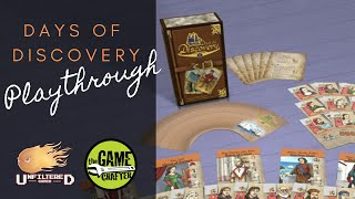 Days of Discovery - Board Game Playthrough
