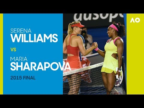 AO Classics: Serena Williams v Maria Sharapova (2015 F)
