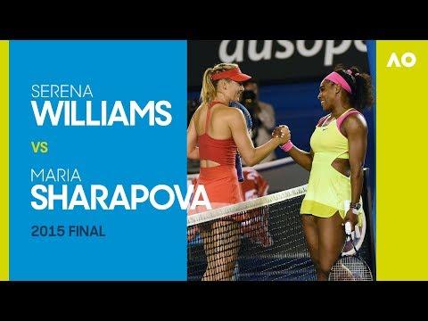 AO Classics: Serena Williams v Maria Sharapova (2015 F)