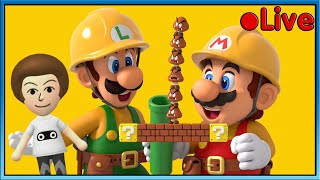 Mario Maker 2 - Playing The Best Levels - 🔴 Live