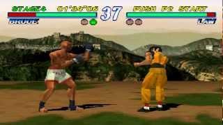 Tekken 2 Bruce Irvin Playthrough