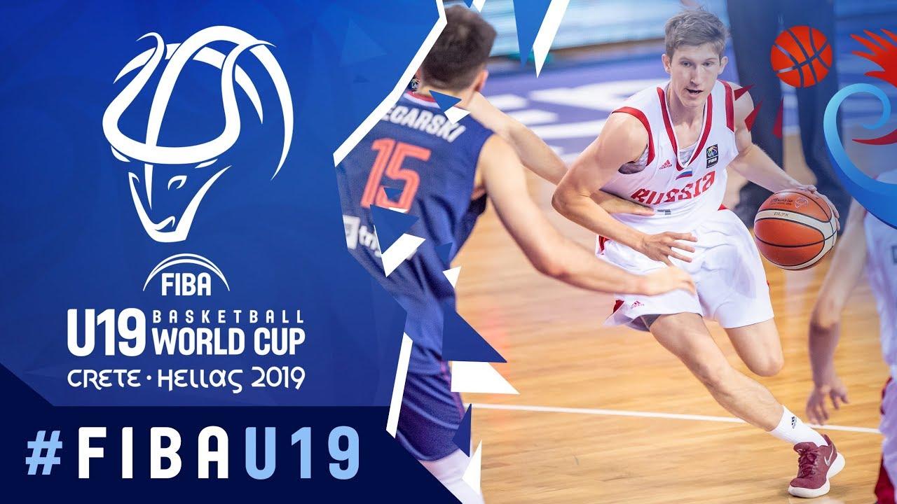 Russia V Serbia Full Game Fiba U19 Basketball World Cup 2019