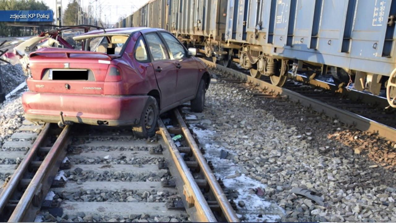 TKB – Wjechał pod nadjeżdżający pociąg – 22.03.2018