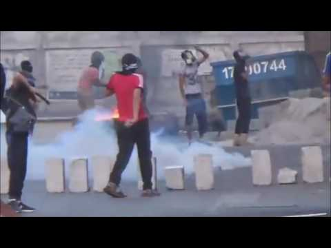 Bahrain : Heavy Clashes in Day of Anger and Riot Police Fire Multiple Tear Gases Heavily