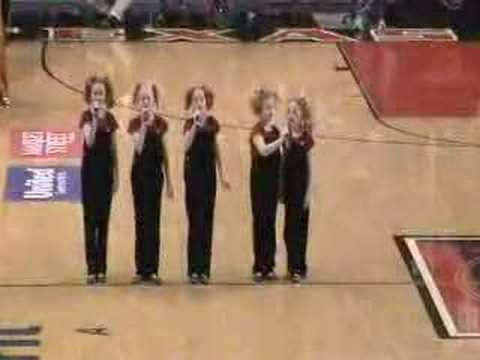 The Cactus Cuties Sing The National Anthem Original Video
