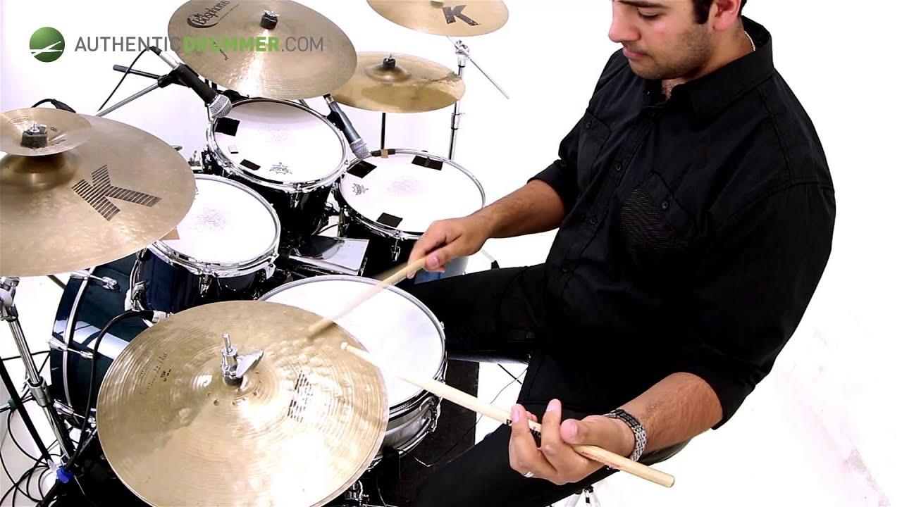 SALSA Drum lesson | Advanced Cascara Patterns | Authentic Drummer | Adrian  Violi