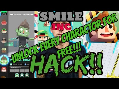 ROMANATWOODS NEW GAME Smile inc only working hack first ever hack on smile inc (get everything free)