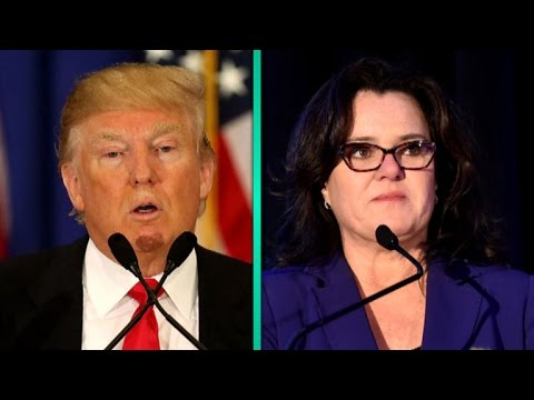 Donald Trump Slams 'Vicious' Rosie O'Donnell During Presidential Debate, Celebs Rush to Her Defen…
