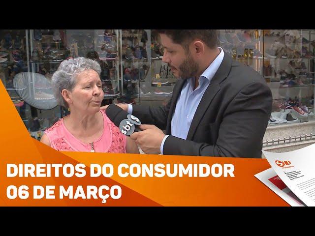 Direitos do Consumidor - 06 de março - TV SOROCABA/SBT