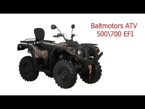 FILM: Baltmotors ATV 500\700 EFI