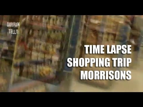 Shopping Trip @ Morrisons Bishop Auckland - Timelapse
