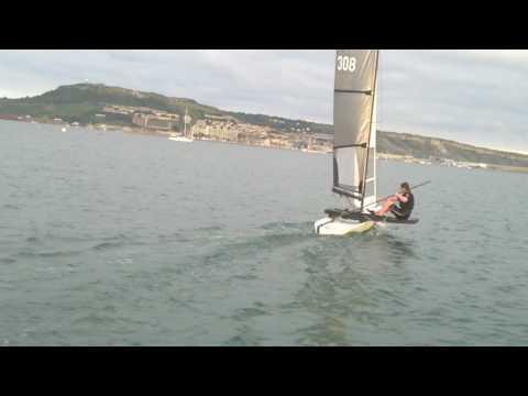 International Canoe capsize