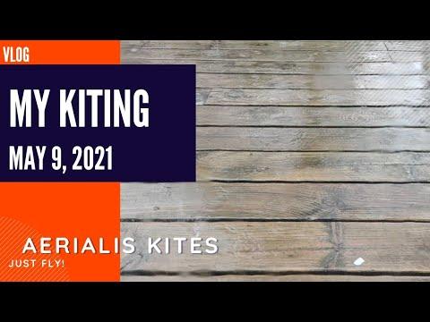 My Kiting - May 9th 2021 - Finally it's Bucketing Down
