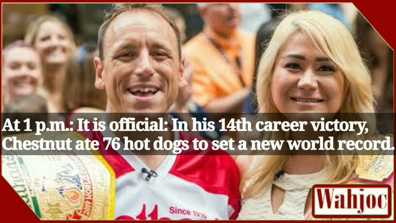 Nathan's Hot Dog Eating Contest 2021 results: Joey Chestnut sets ...