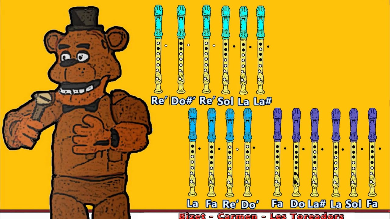 how to play fnaf on recorder