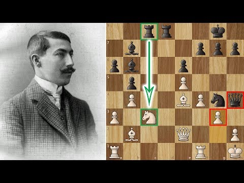 Rubinstein's Immortal Game! – One of the most beautiful games of Romantic Chess Era