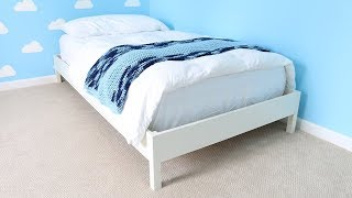 Build a Twin Size Bed Frame