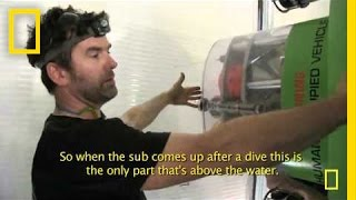 "DEEPSEA CHALLENGE: March 19, 2012 - ""Preparing the Mast"""