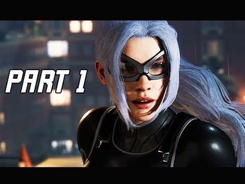SPIDER-MAN THE HEIST Walkthrough Gameplay Part 1 - BLACK CAT (City that Never Sleeps DLC)