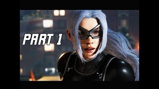 SPIDER-MAN THE HEIST Walkthrough Gameplay Part 1 - BLACK CAT (City that Never Sleeps DLC)