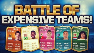 Fifa 15 Battle Of Expensive Teams - He Has A 96 Rated Team!?