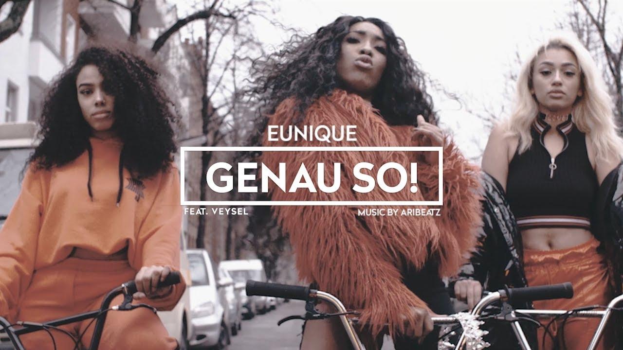 Eunique ► GIFTIG / GENAU SO (ft. Veysel) ◄ prod. Juhdee, Michael Jackson & Aribeatz [Official Video]