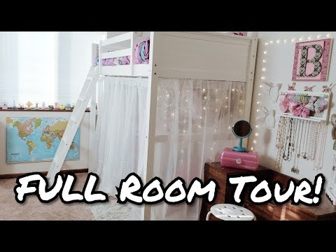 Room Tour - Bella's New Bedroom - Bedroom Room Tour - Bella Boo's Lunches