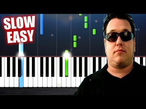Smash Mouth - All Star - SLOW EASY Piano Tutorial by PlutaX
