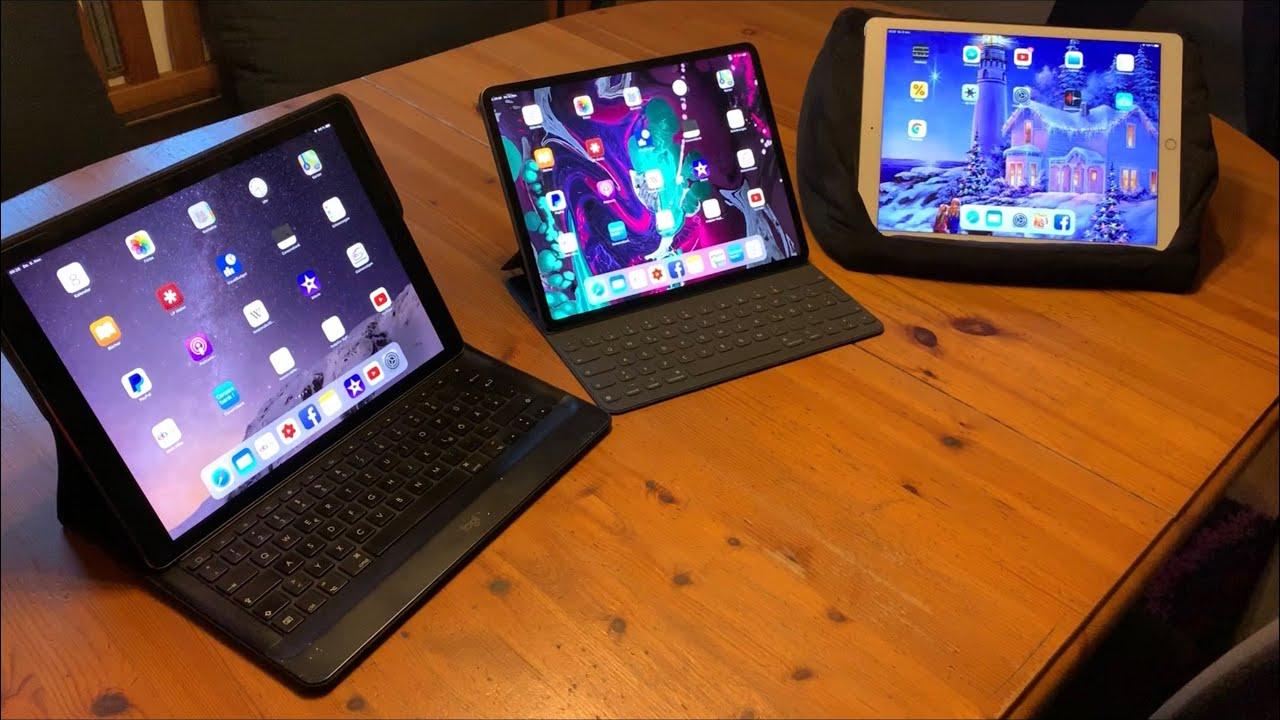 Apple iPad Pro (3rd gen.) VS iPad Pro (2nd gen.) VS iPad ...