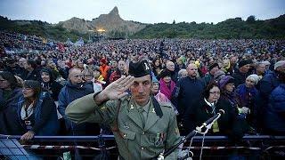 В Турции почтили память погибших в Дарданелльской операции