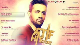 Atif Hit Story   Audio Jukebox   Best Atif Aslam Songs Non Stop