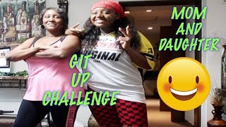 GIT UP CHALLENGE (MOM AND DAUGHTER)   BLANCO BROWN   KBFAM Video