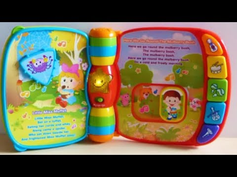 Vtech Rhyme Discover Electronic Book