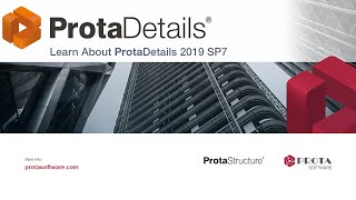 Part 3 - Learn About ProtaDetails 2019 SP7