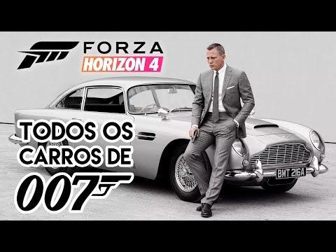 TODOS OS CARROS DE JAMES BOND EM FORZA HORIZON 4