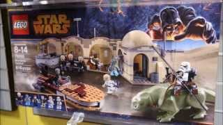 LEGO Star Wars 2014 Mos Eisley Cantina Analysis! HD