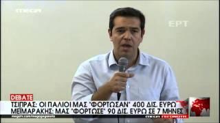 Σκληρό ροκ για Τσίπρα - Μεϊμαράκη - MEGA ΓΕΓΟΝΟΤΑ