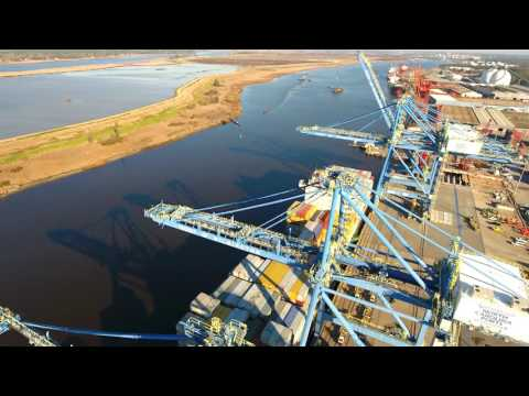Port of Wilmington Drone Video